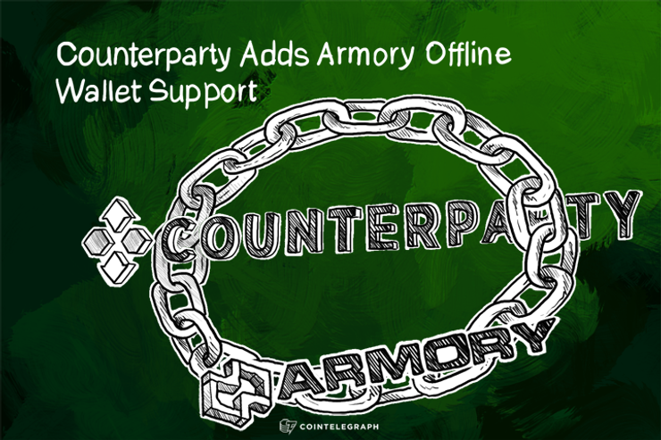 Counterparty Adds Armory Offline Wallet Support