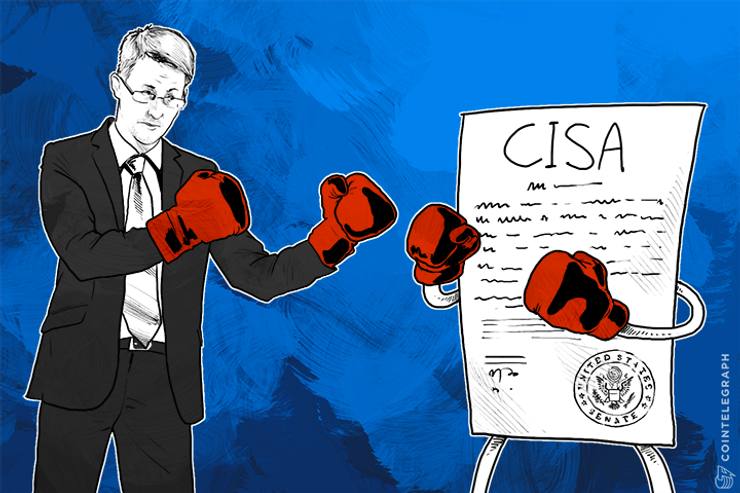 NSA-Friendly CISA Bill Easily Passes U.S. Senate; Snowden Attacks