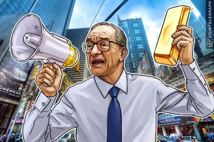 Bitcoin é como moeda da revolução americana, diz Alan Greenspan