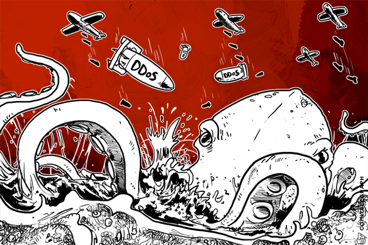 Kraken DDoS Attack Leaves Traders Unable to Sell at $500 Peak