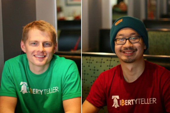 LibertyTeller Duo Manually Make Bitcoin Omnipresent