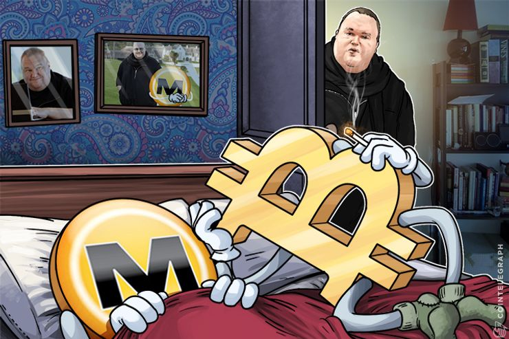 Kim Dotcom: Megaupload and Bitcoin Had Sex, Baby Will Be Such a Joy