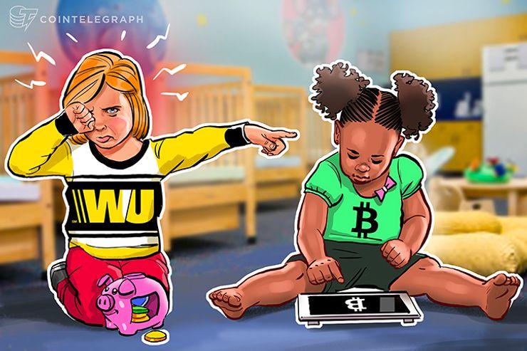 Western Union bloquea transacciones relacionadas con criptomonedas