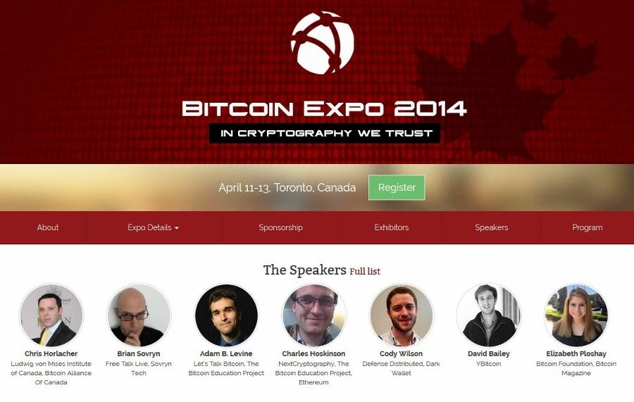 Toronto Bitcoin Expo Team Reveals Details of the Event