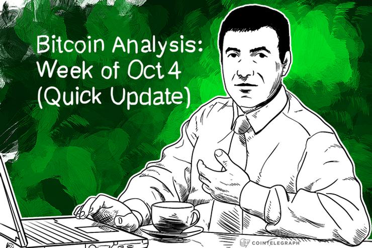 Bitcoin Analysis: Week of Oct 4 (Quick Update)