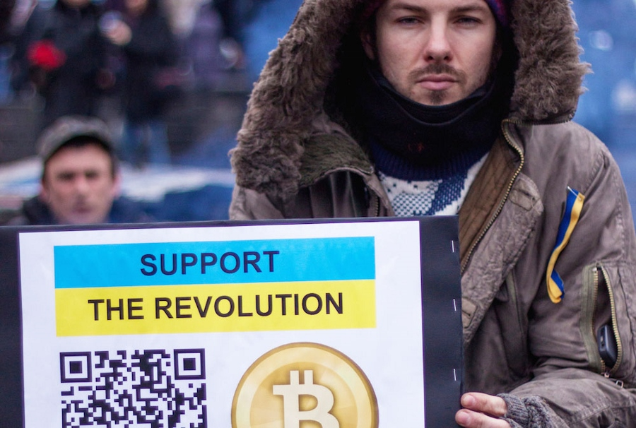 Bitcoin in Ukraine in the Times of Peril
