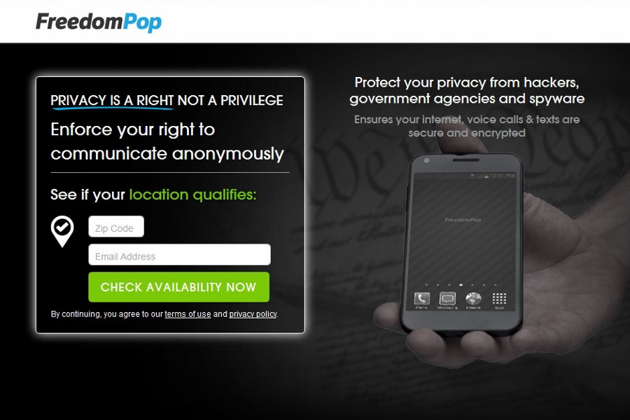 No more burners: FreedomPop gives you a fully encrypted phone for $10 a month