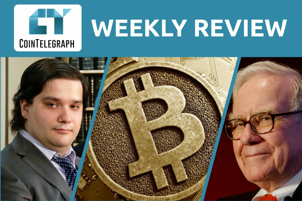 Cointelegraph Weekly Review (Mar. 3-7)