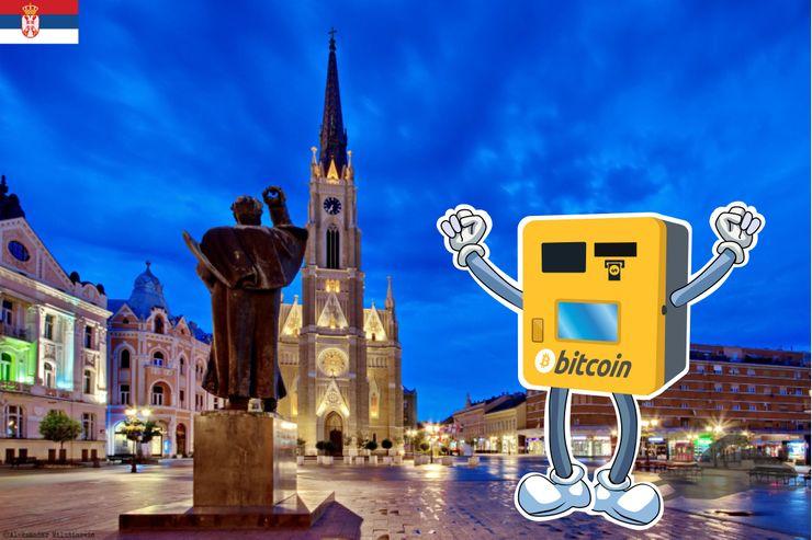 ECD: Novi bitkoin automat u Novom Sadu