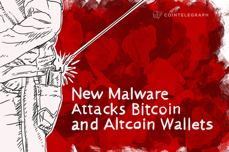 New Malware Attacks Bitcoin and Altcoin Wallets