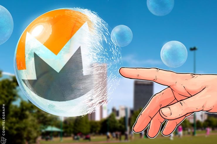 Monero's Bubble Pops, Price Plummets As Currency Loses Top Five Ranking