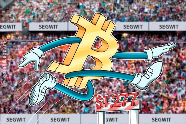 Bitcoin Price Eyes New Highs Amid 90 Percent Plus SegWit Support