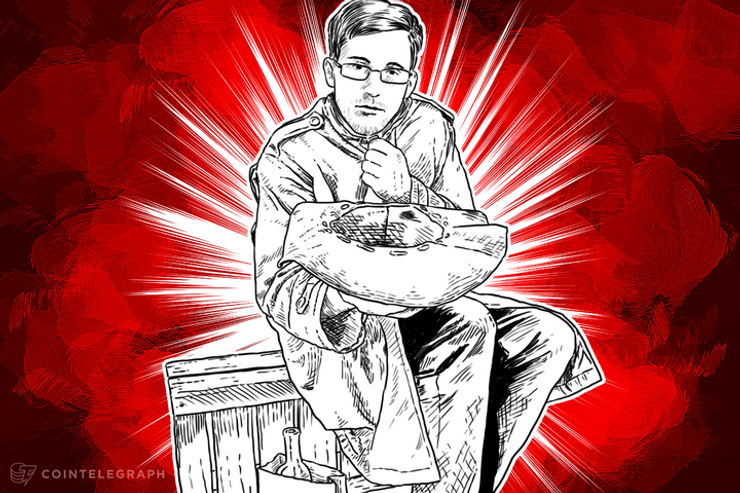 Edward Snowden Is Accepting Bitcoin Donations for His Legal Defense Fund