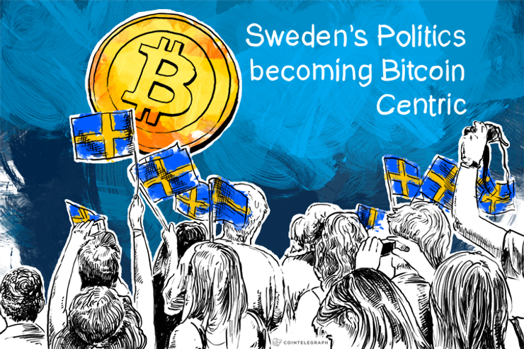 Sweden's Politics becoming Bitcoin Centric