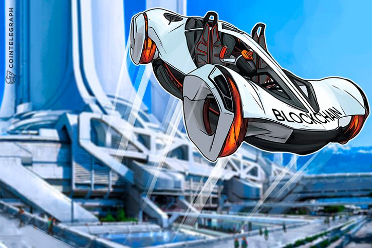 Blockchain's Vertical Takeoff As Flying Cars Become Reality
