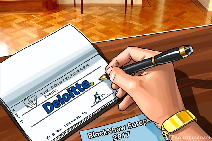Deloitte Sponsors BlockShow Europe 2017 by Cointelegraph Events