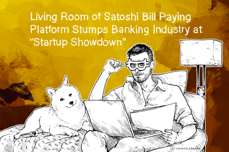 "Living Room of Satoshi wins Banking Industry ""Startup Showdown"""
