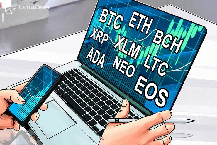 Bitcoin, Ethereum, Bitcoin Cash, Ripple, Stellar, Litecoin, Cardano, NEO, EOS: Price Analysis, March 26