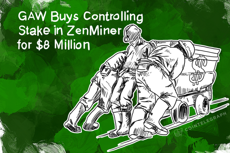 GAW Buys Controlling Stake in ZenMiner for $8 Million