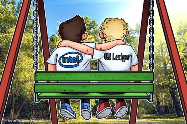 Intel se asocia con Ledger para introducir el sistema de almacenamiento de tenencias de criptomonedas