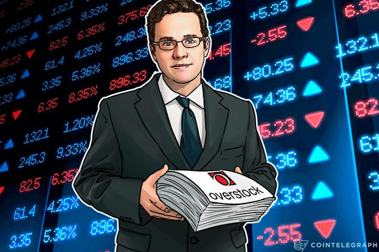 Overstock Taking Stock Market To Bitcoin's Blockchain In December