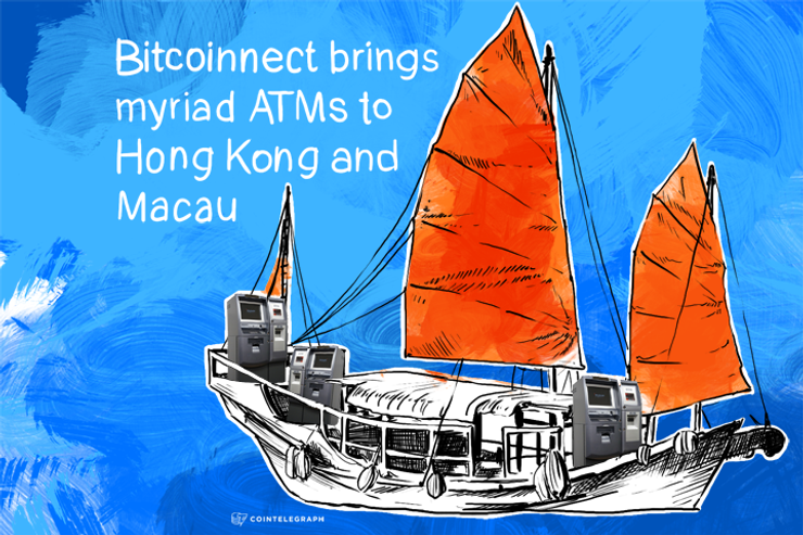 Bitcoinnect brings myriad ATMs to Hong Kong and Macau