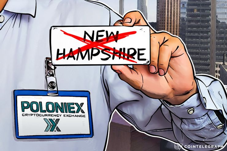 Poloniex Exchange Suspends All New Hampshire Accounts Due to Govt Regulations