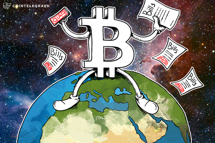 How People Pay Bills With Bitcoin All Around The World