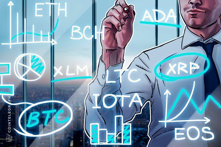 Bitcoin, Ethereum, Ripple, Bitcoin Cash, EOS, Litecoin, Cardano, Stellar, IOTA: Análisis de precios, 13 de junio