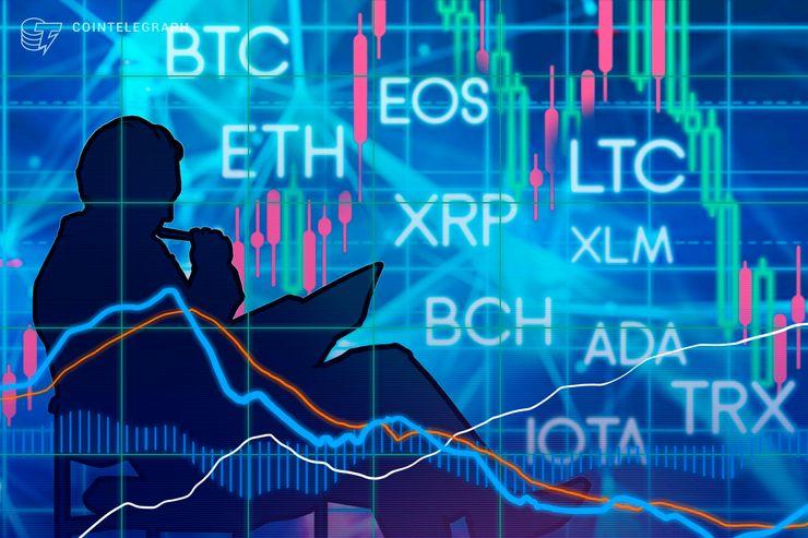 6月25日仮想通貨チャート分析:ビットコイン、イーサリアム、リップル、ビットコインキャッシュ、EOS、ライトコイン、カルダノ、ステラ、IOTA、トロン
