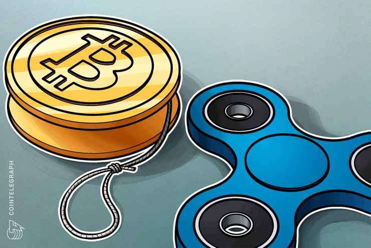 Ripple as a spinner and Bitcoin as a yoyo