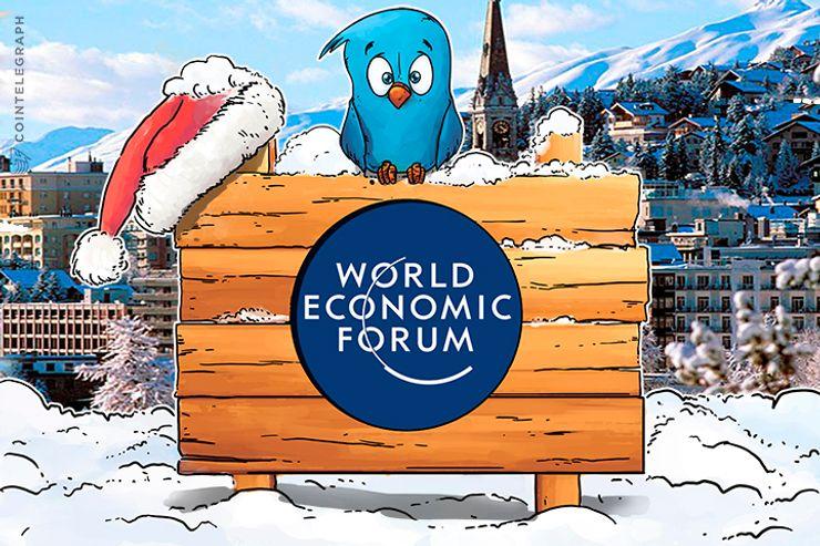 Twitter reagiert auf Krypto-Furchtverbreitung bei WEF in Davos