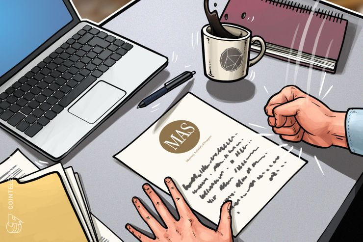 Cingapura solta aviso de conformidade para 8 casas de câmbio de cripto e ordena a suspensão de vendas da ICO