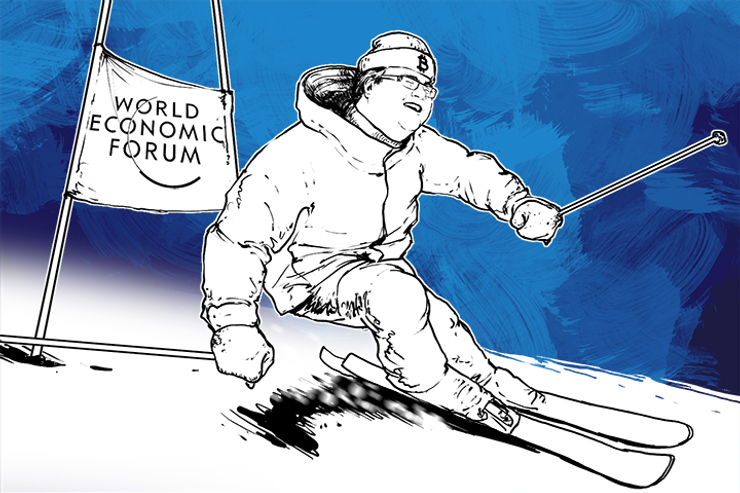 LinkedIn Founder Tells Davos Forum: 'We Want Bitcoin to Be a Success'