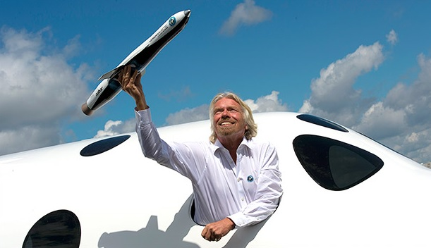 Buy your space flight with bitcoin!
