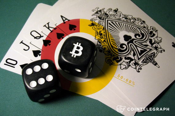50 to 60% of Bitcoin transactions made on gambling sites
