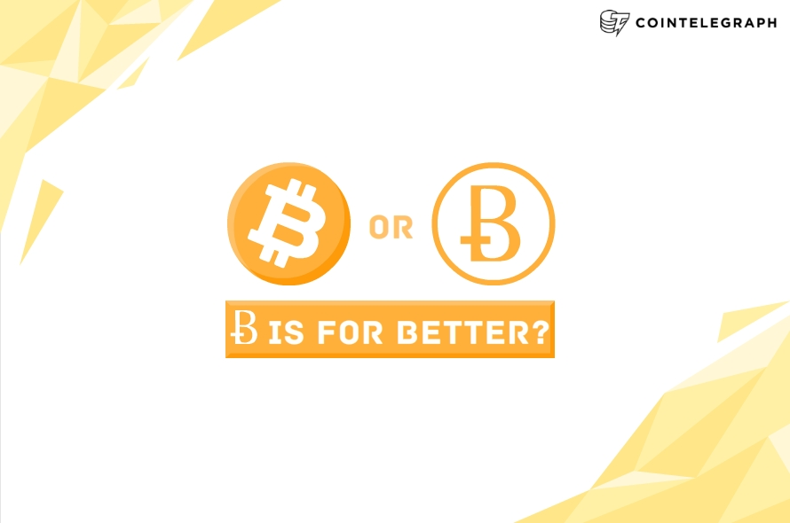 Does Bitcoin deserve a better symbol?