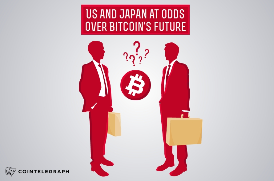 US and Japan at odds over Bitcoin's future as a currency