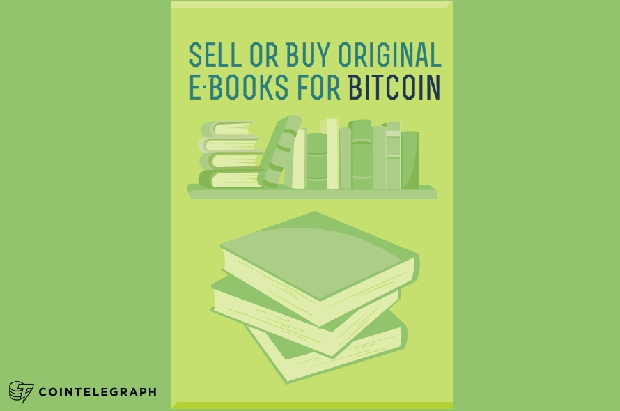 Sell or Buy Original eBooks for Bitcoin