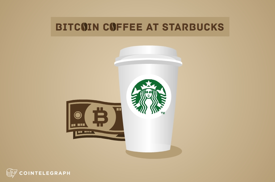 Bitcoin Coffee at Starbucks