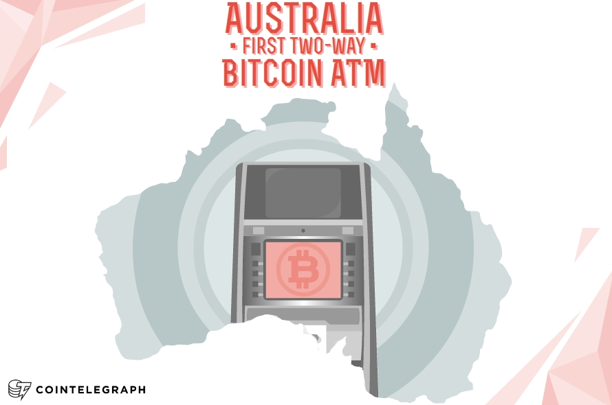 First Two-Way Bitcoin ATM in Australia opens today