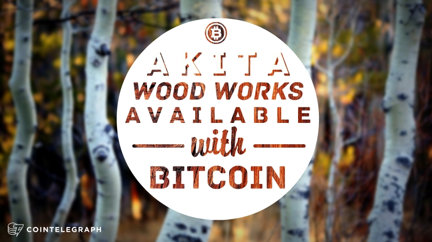 Extraordinary Woodwork Available with Bitcoin