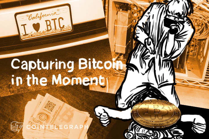 Capturing Bitcoin in the Moment