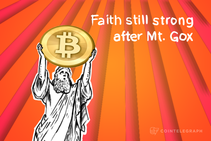 Faith still strong after Mt. Gox