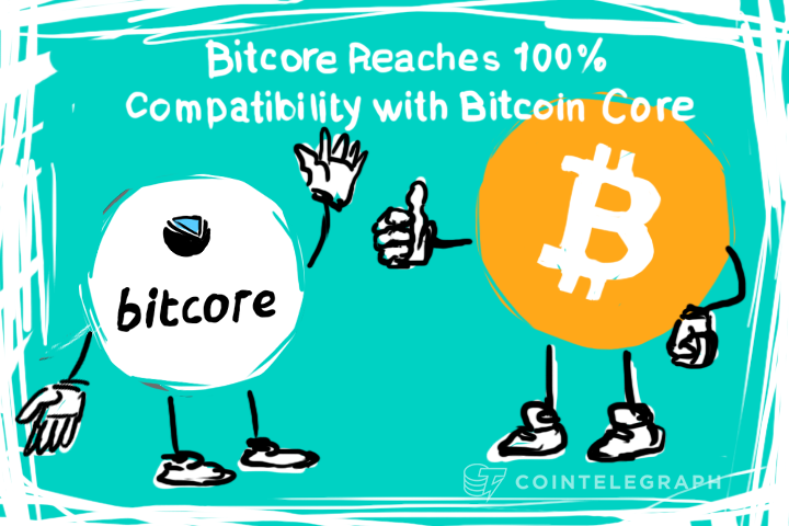 Bitcore Reaches 100% Compatibility with Bitcoin Core