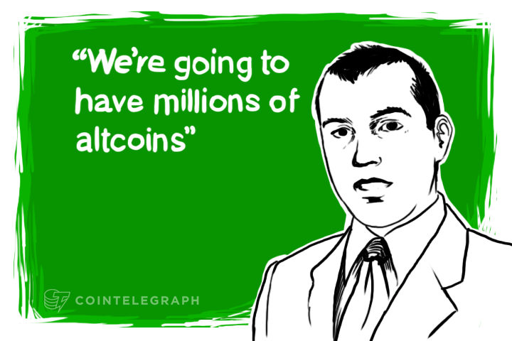 """Antonopoulos: """"We're going to have millions of altcoins"""""""