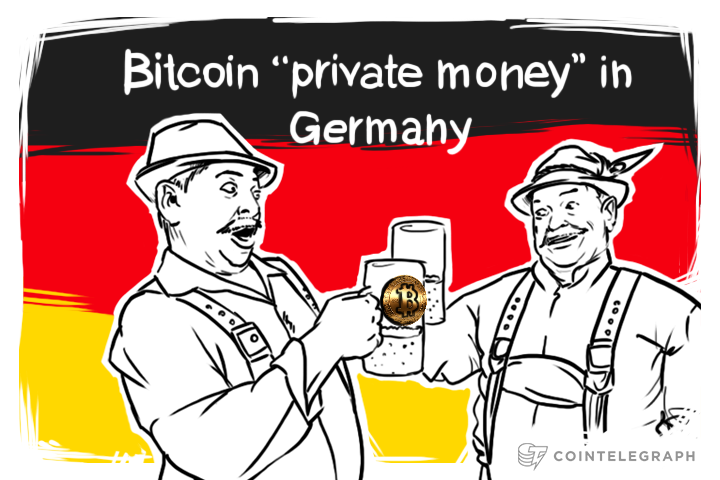 "Bitcoin becomes ""private money"" in Germany"