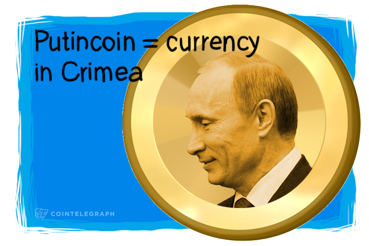 Crimea Recognizes PutinCoin as a Currency