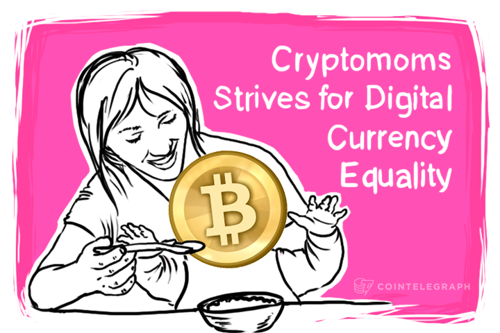 Cryptomoms Strives for Digital Currency Equality