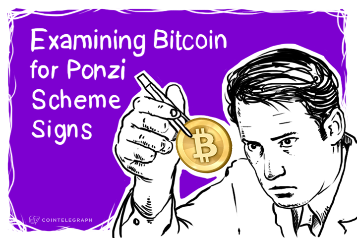 Examining Bitcoin for Ponzi Scheme Signs